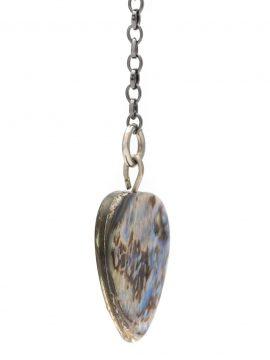 Brinco Pedras Abalone Azul