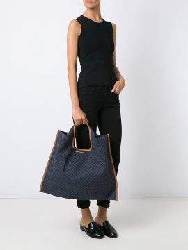 Bolsa Gaya Azul Jeans Matelasse