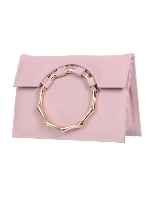 Clutch Aya – rosa claro